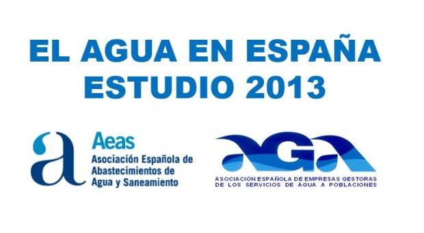 Estudio AEAS-AGA 2013: ¿Qué precio pagan los usuarios del servicio del ciclo integral de agua en España?