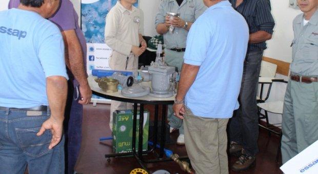 La cooperación japonesa capacita a funcionarios de la Empresa de Servicios Sanitarios del Paraguay en Concepción
