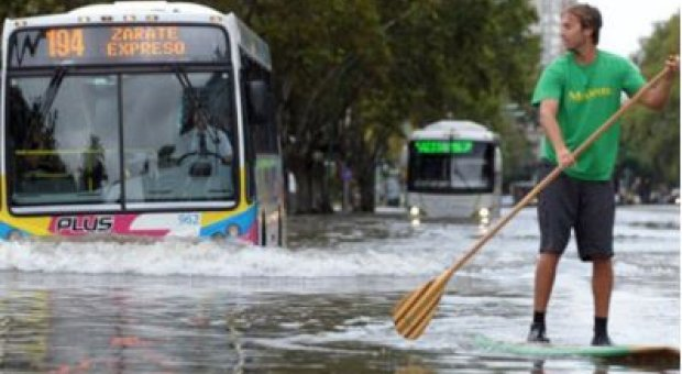 En Buenos Aires, el impacto del cambio climático se mide en milímetros de lluvia