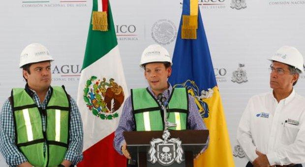 Conagua se fija como meta garantizar el abastecimiento de agua para la zona metropolitana de Guadalajara
