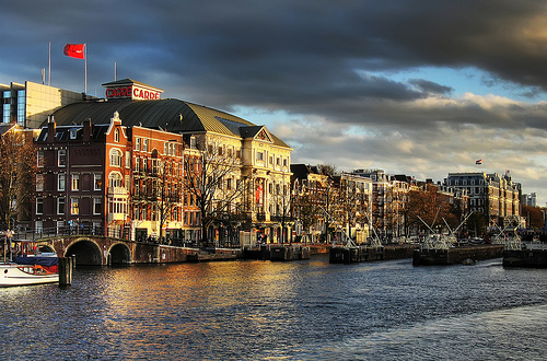 Theatre at the Amstel in Amsterdam