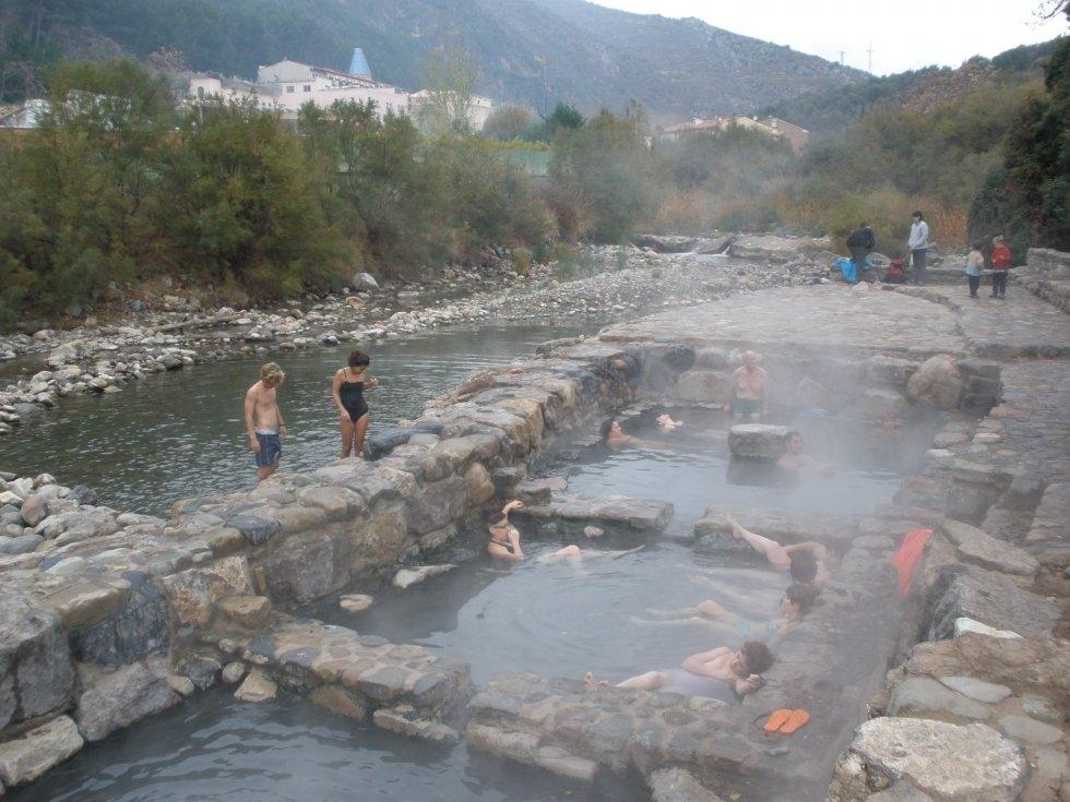 Las mejores termas naturales de espa a i iagua - Piscinas naturales la rioja ...