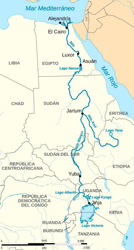 La Historia Oculta Del Río Nilo Iagua