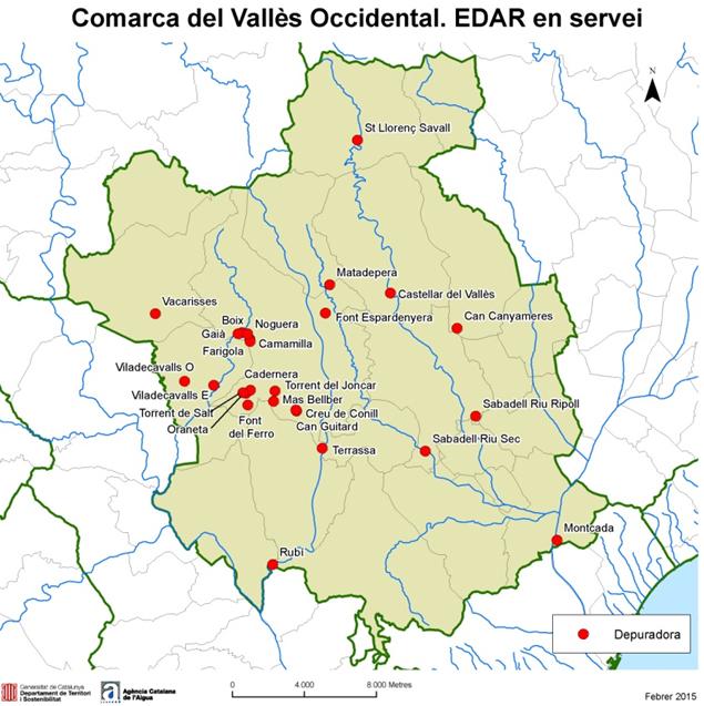Las depuradoras activas en la comarca del vall s - Casas en el valles occidental ...