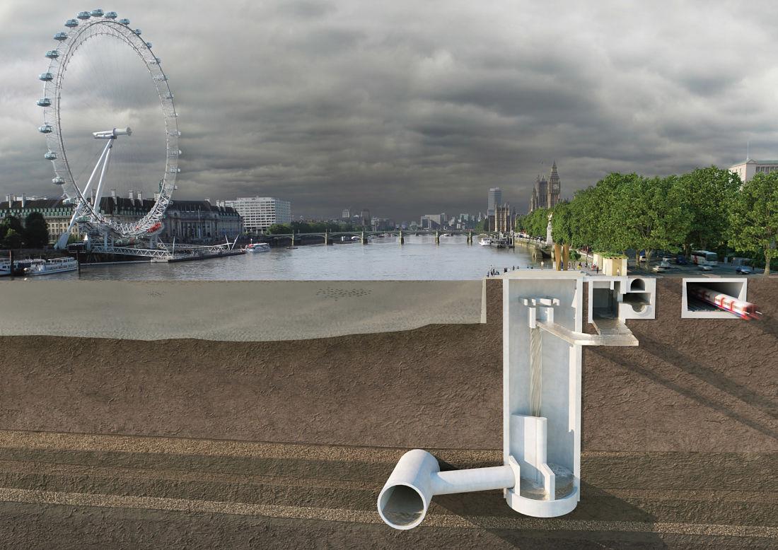 Thames Tideway Tunnel, el proyecto de saneamiento para el Londres del s. XXII