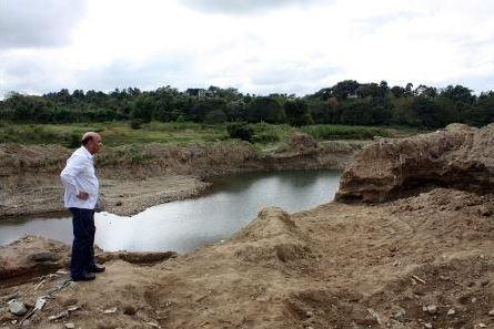Los bajos niveles del cauce del río Haina alarman al Ministerio de ... - iAgua.es