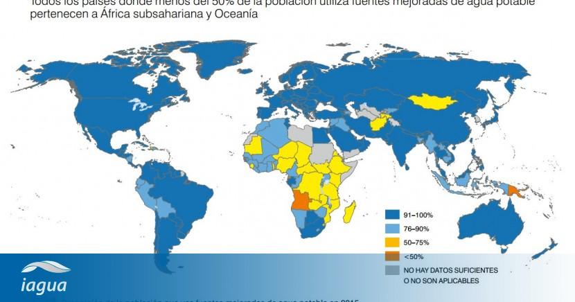 áfrica Subsahariana Y Oceanía Concentran A Los Países Con Menor Acceso Al Agua Iagua
