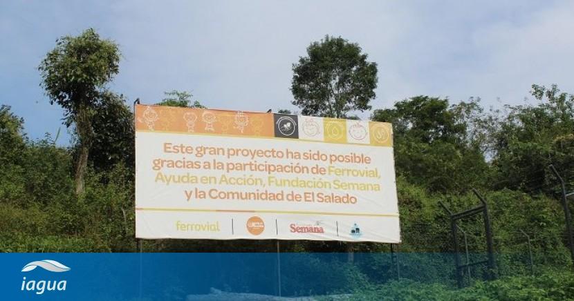 Ferrovial Agua Para La Paz En El Salado Colombia Iagua