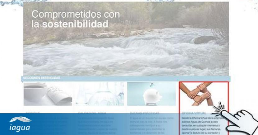 Aguas de cuenca pone en marcha su oficina virtual for Oficina virtual aguas de barcelona