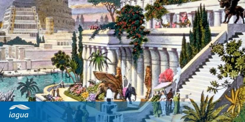 Los Jardines Colgantes De Babilonia Pudieron Llegar A Consumir Mas De 30 000 Litros De Agua Al Dia Iagua