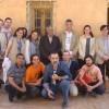 El equipo de la UJA que se desplazó hasta los campamentos saharauis.