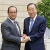 Ban Ki-moon pide líderes mundiales acelerar negociaciones cambio climático