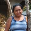 Maria Crecencia Sai, de la comunidad de Maculis, Morazán (Foto: Àngels Masó)