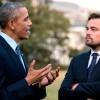 Leonardo DiCaprio y Barack Obama se reúnen hablar cambio climático