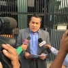 Ministro Adrianzén explica a la prensa detalles del estado de emergencia en Arequipa.