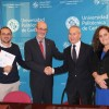 Firma del convenio entre la CHS y la UPCT