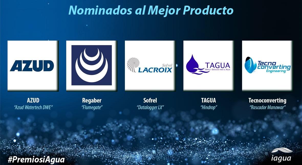 Premios iAgua reconocerán Mejor Producto 2017