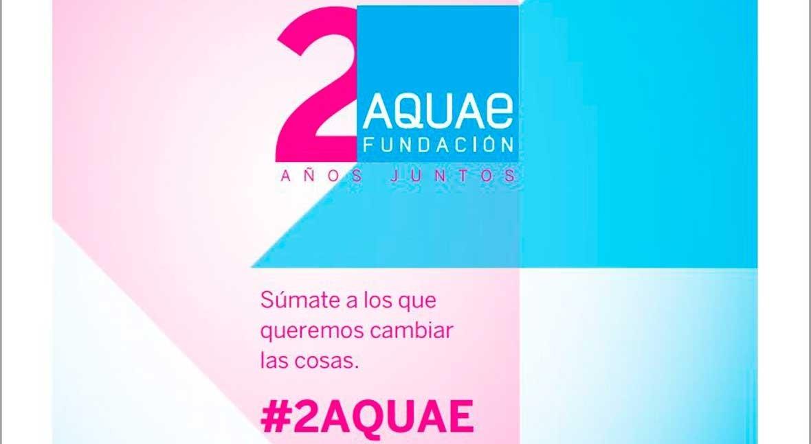 Fundación Aquae, dos años pasión agua
