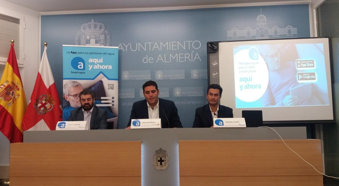 Smart aqua, aplicación Servicio Municipal Aguas Aqualia, llega Almería