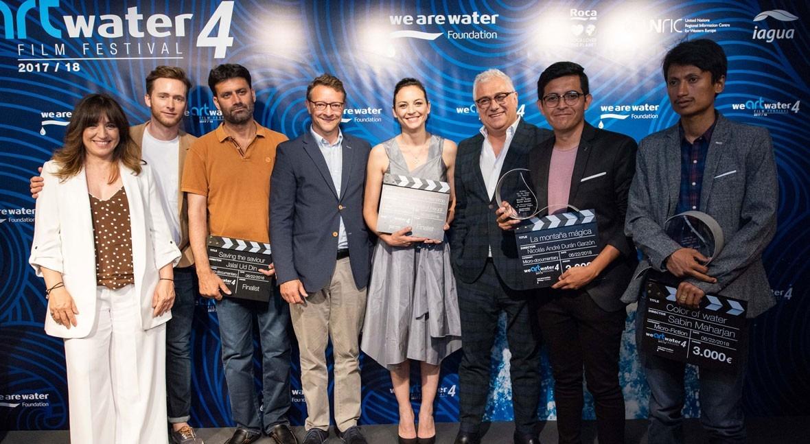 Fundación We Are Water entrega premios We Art Water Film Festival 4