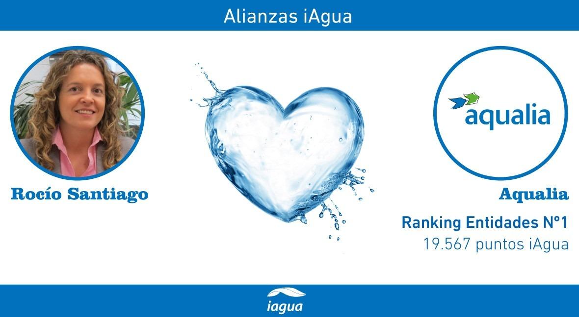 Alianzas iAgua: Rocío Santiago liga blog Aqualia