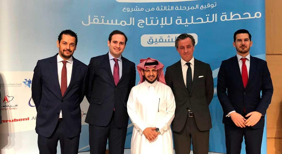ACCIONA construirá mayores desaladoras Arabia Saudí, 750 millones euros