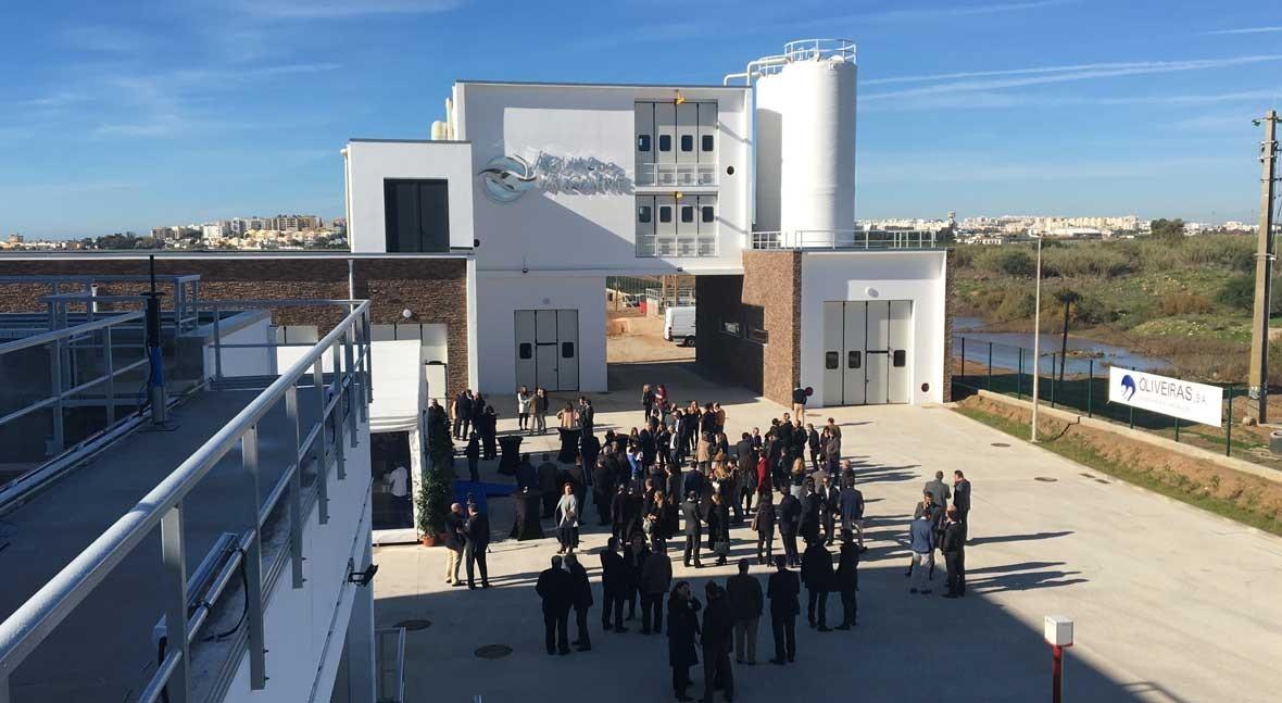 ACCIONA Agua inaugura primera EDAR Península Ibérica proyectada tecnología Nereda®