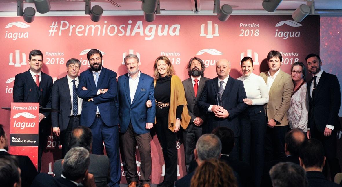 ACCIONA Agua, coronada como Mejor Empresa Premios iAgua 2018