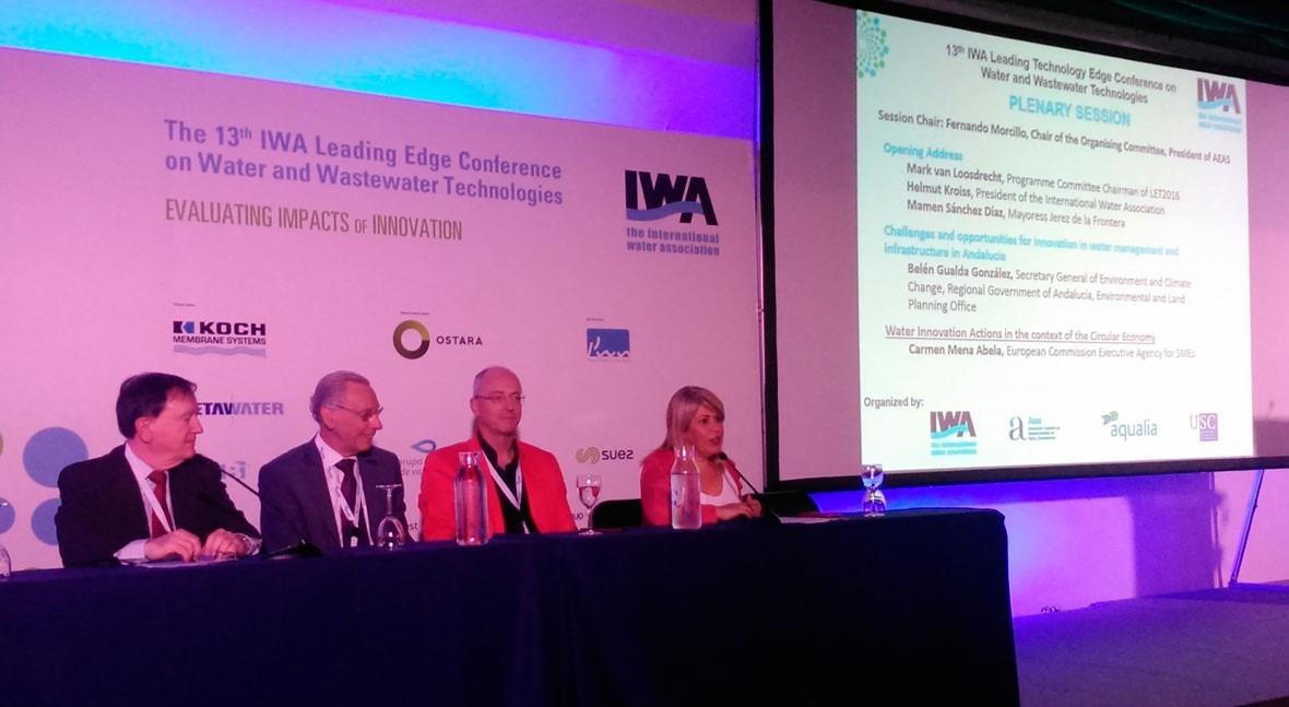 """AEAS participa apertura IWA LET 2016, """"Evaluando impactos innovación"""""""