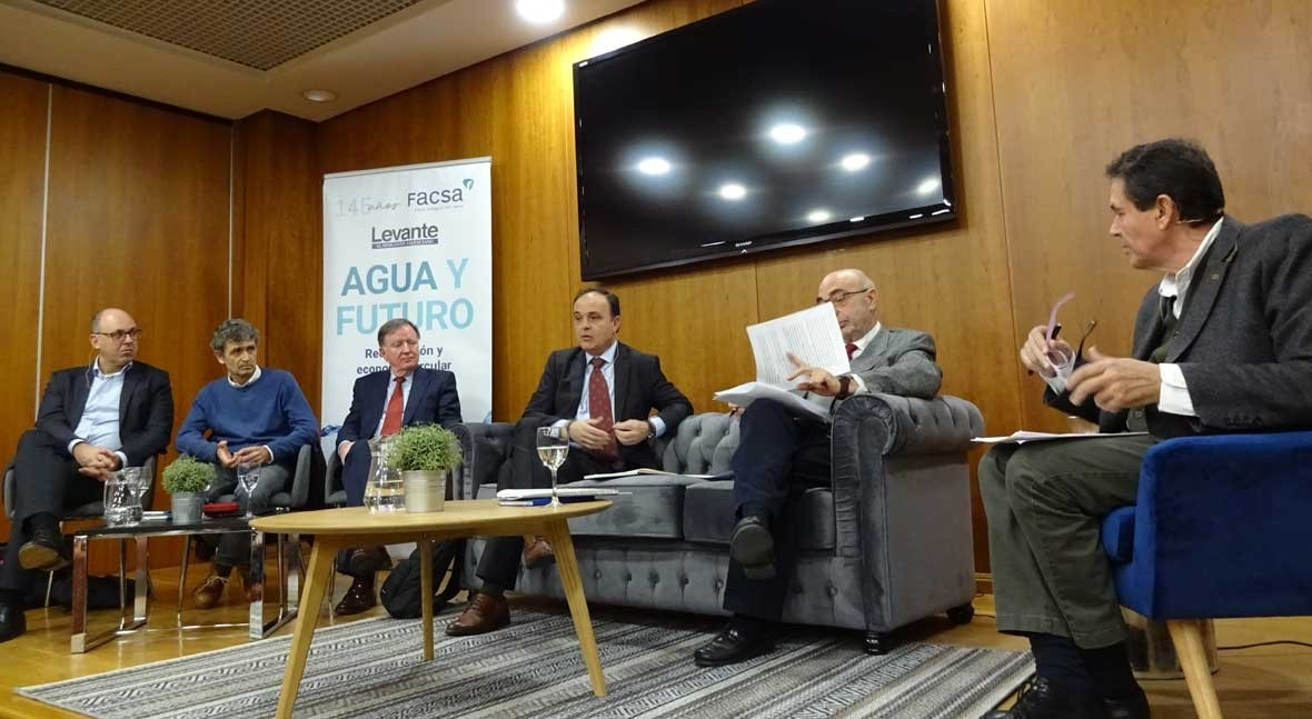 Morcillo explica claves contribución sector agua urbana economía circular