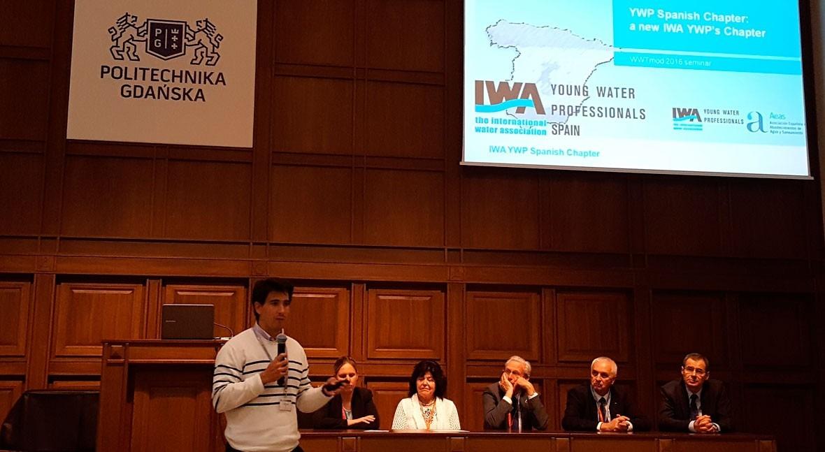 AEAS participa 8ª Conferencia Europea Jóvenes Profesionales Agua (YWP)