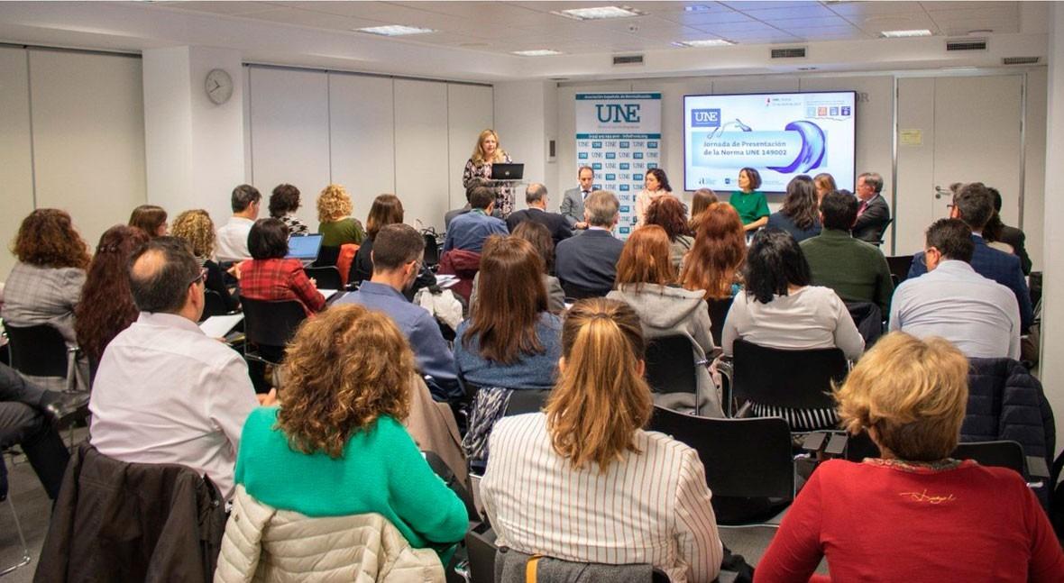 AEAS participa presentación norma UNE productos desechables inodoro