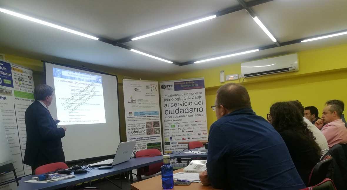 Fernando Morcillo participa IV Curso Especialista Tecnologías Zanja
