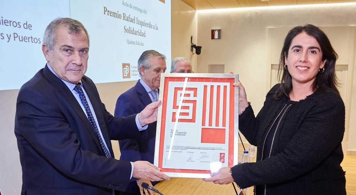 Fondo Agua recibe premio Rafael Izquierdo Solidaridad