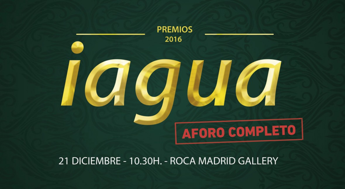 Inscripción Premios iAgua 2016
