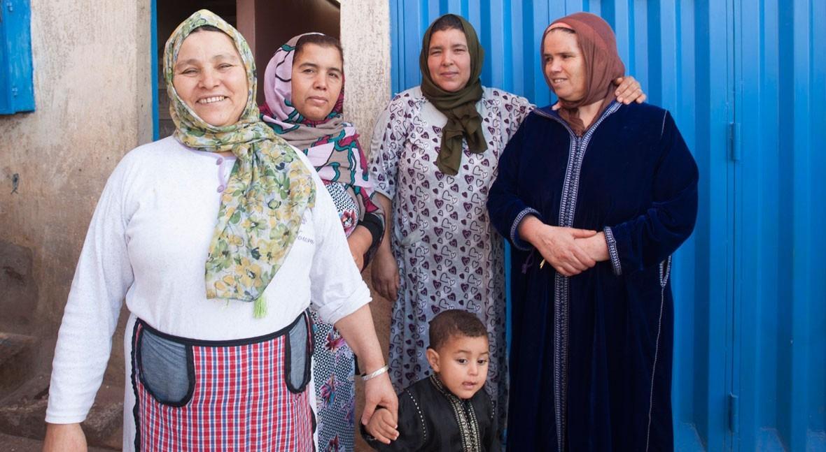 agua devuelve sonrisa poblaciones vulnerables Casablanca
