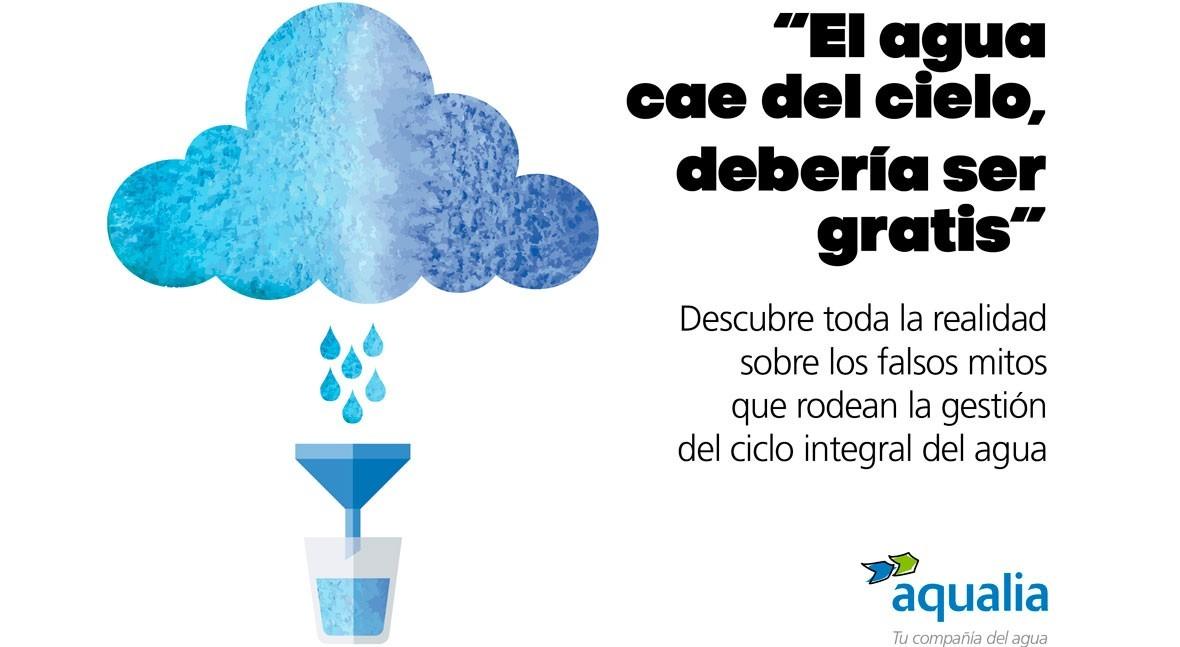 #Informaciónrealdelagua: Desmontando falsos mitos gestión agua