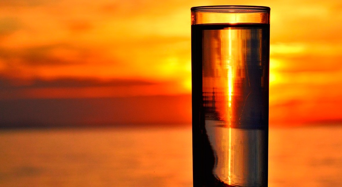 Beber agua sal, ¿otra estupidez humana relacionada agua?