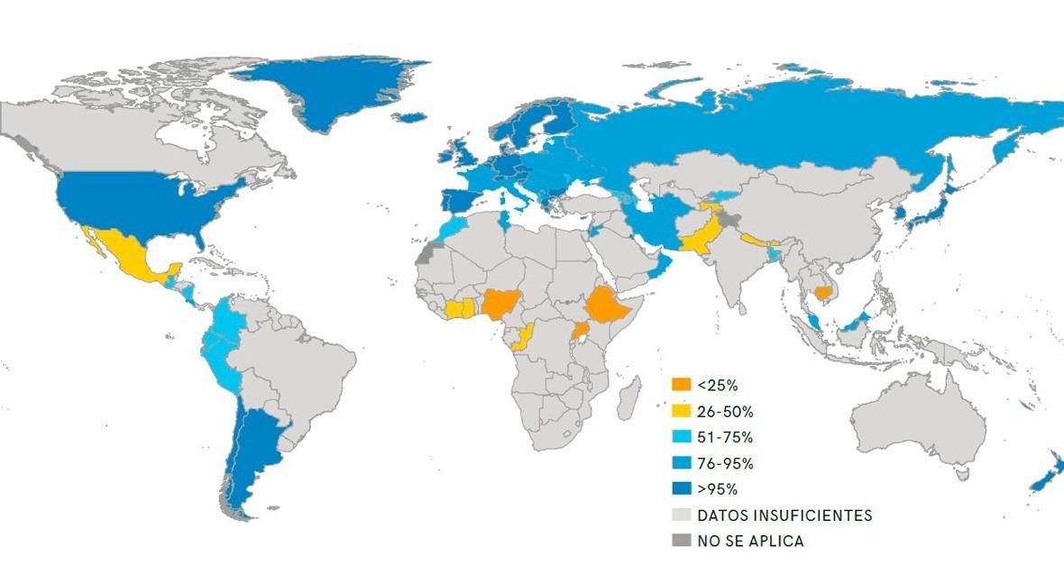 5.200 millones personas usaron servicios agua potable gestionada manera segura 2015