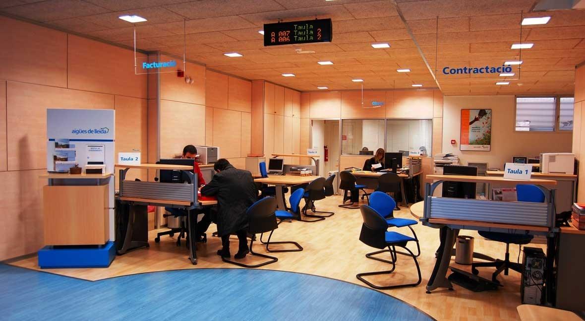 Aguas Lleida atiende 41.966 consultas y solicitudes abonados durante 2015