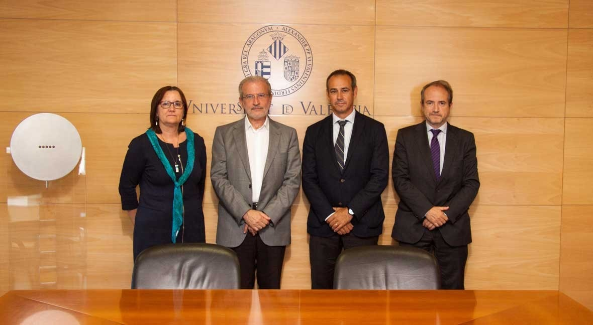 Fundación Grupo Aguas Valencia y UV potenciarán proyectos desarrollo tecnológico