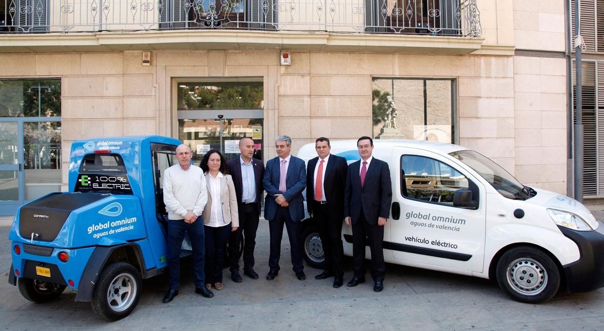 2 vehículos eléctricos se incorporan al mantenimiento alcantarillado Massamagrell
