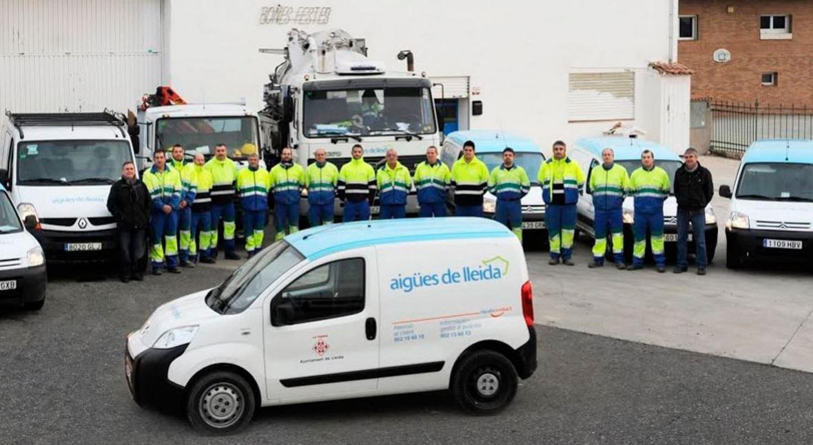 ayuntamiento Lleida reconoce beneficios gestión Aqualia ciudad