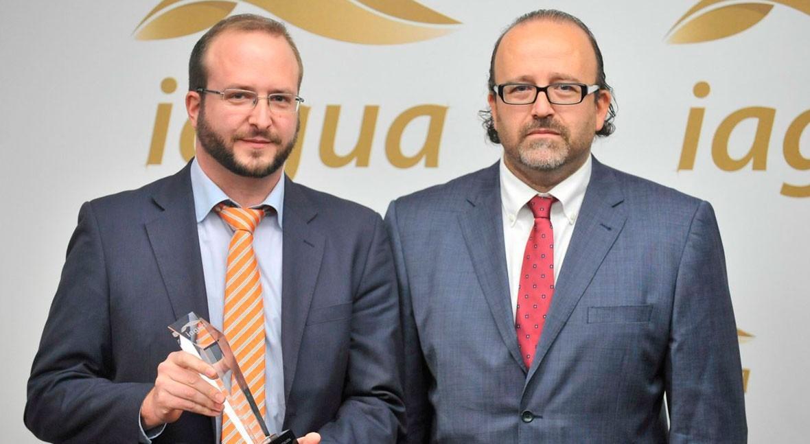 Premio iAgua Mejor Presentación recayó Alberto Vizcaíno