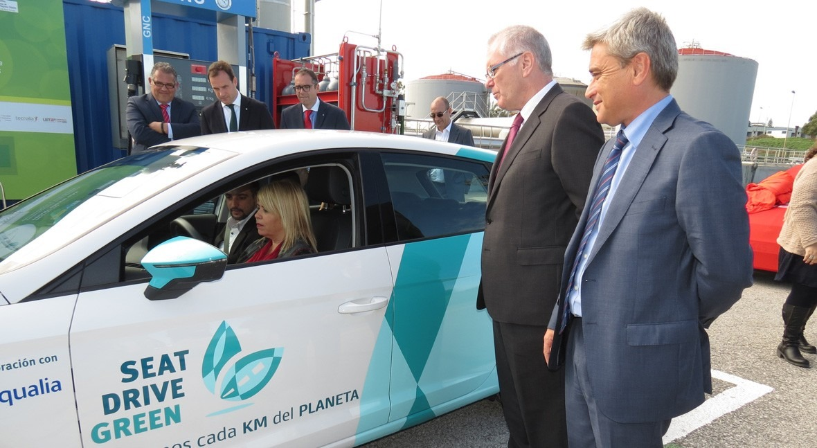 SMART Green Gas: Biocombustible coches partir aguas residuales