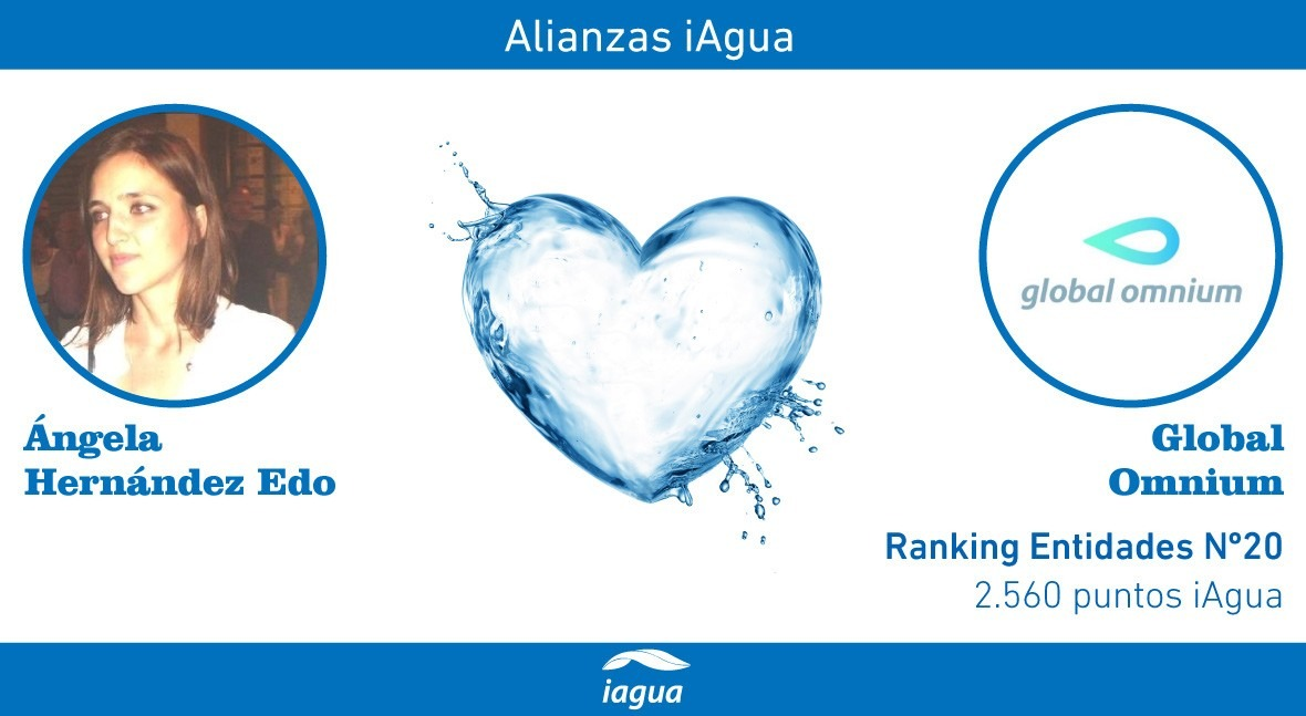 Alianzas iAgua: Ángela Hernández liga blog Global Omnium