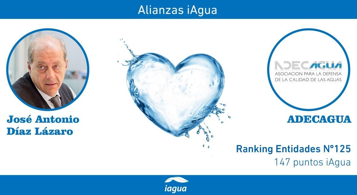 Alianzas iAgua: José Antonio Díaz Lázaro liga blog ADECAGUA