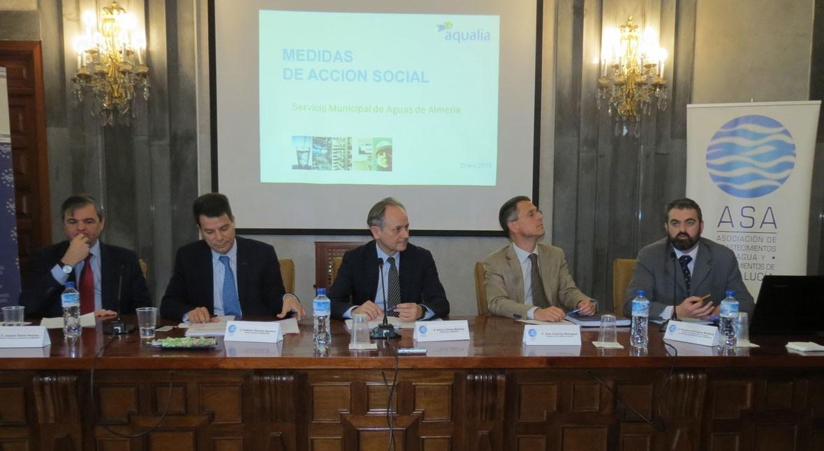 Aqualia mantiene Almería segunda tarifa más económica Andalucía