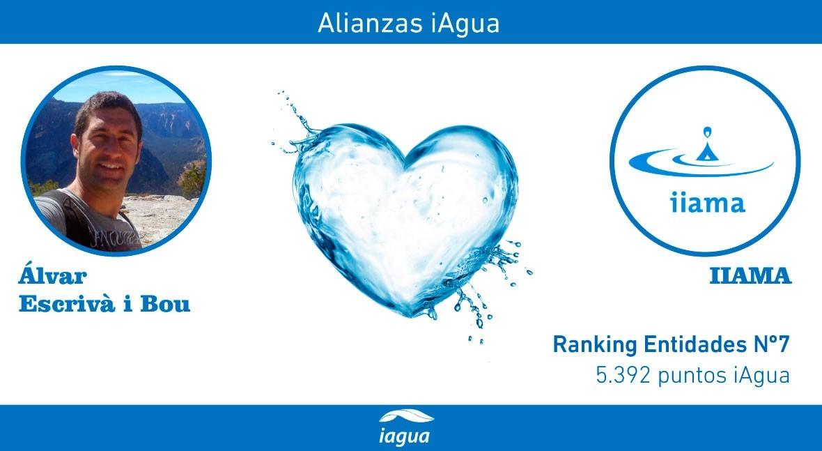 Alianzas iAgua: Àlvar Escrivà i Bou liga blog IIAMA