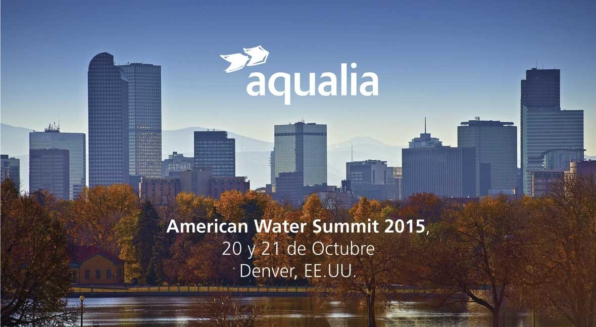 Aqualia estará presente primera vez American Water Summit Denver